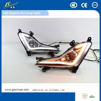 Led Cob 7 Shape Daytime Running Light For Hyundai Elantra 2014 - 2015