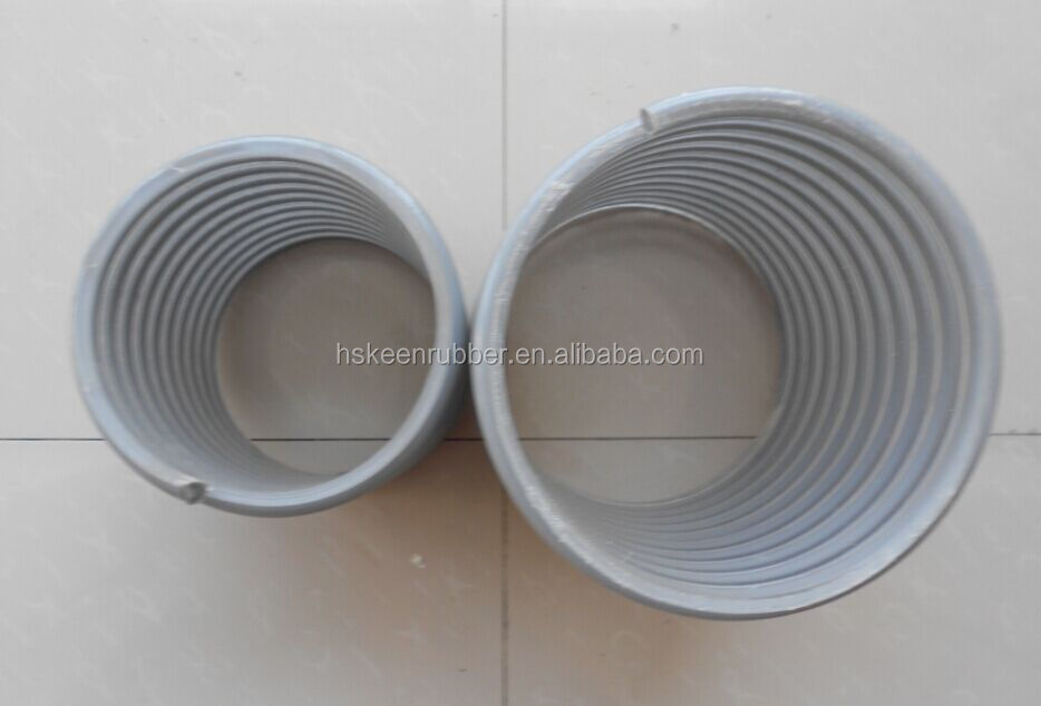 Transparent PVC Rigid Helix Hose, 8 inch PVC water pump hose 152 mm