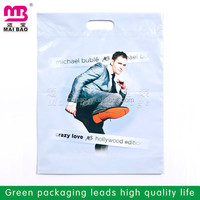 customer die cut packaging type plastic bags