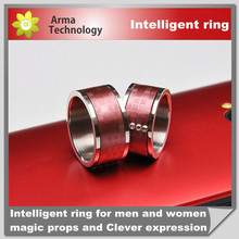 Fun playing GalaRing intelligent ring cell phone