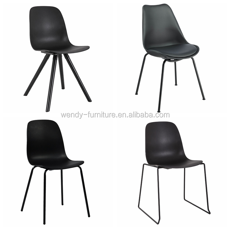 simple design pu leather seat dining chair for dining room