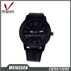 cheaper price with silicone strap , SL 68 movement ,promotional watch