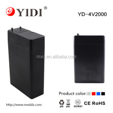 4v 2ah valve regulated rechargeable sealed lead acid battery