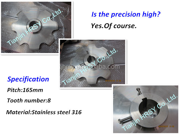 Black Phosphating sprocket for Canada customers