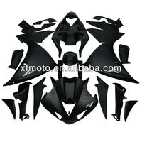 For Yamaha YZFR1 YZF R1 2009-2012 2010 2011 Black ABS Plastic Fairing Body Work