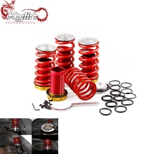 Kylin Racing Adjustable Red Suspension Coilover Springs fit for Civ 88-00