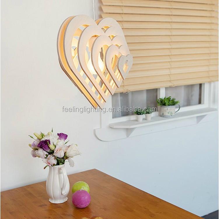 Factory Sale Fashion Ikea Wooden Pendant Lights Modern Free Bulb ...