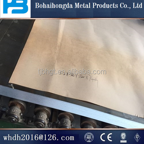 construction of galvanized steel sheet contacting information