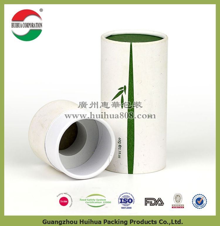 OEM waterproof cardboard coffee packaging paper tube