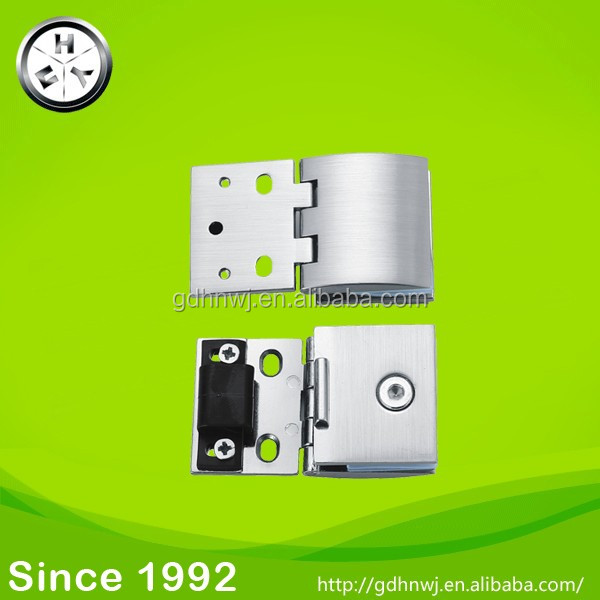 Promotion GB zinc alloy glass hinge for display cabinet