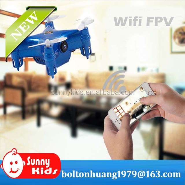 RC Mini WiFi nano drone 4CH 6-Axis Gyro with HD Camera