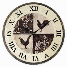 Popular item with reasonable price MDF wall clock wooden wall clock