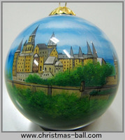 All Size And Design Hengshui Hand Inner Painted Glass Bauble Or Ornament