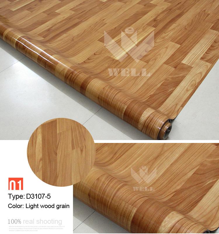 Pvc Floor Covering For Indoor Usage Natural Wood Looking Plastic Flooring Hot Selling Vinyl