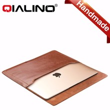 "laptop sleeve case for macbook 12"" and Air 13"", for macbook pro 13.3"" leather bag"