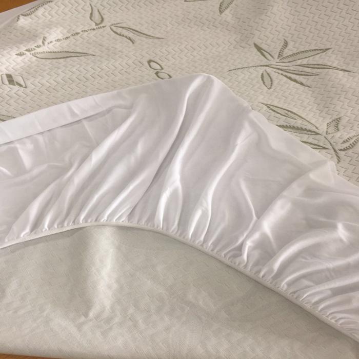 Sping/autumn used beige color elastic belt slight thin flannel fleece mattress protector - Jozy Mattress | Jozy.net