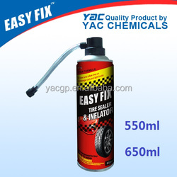 non-flammable tyer sealant and Inflator 650ml