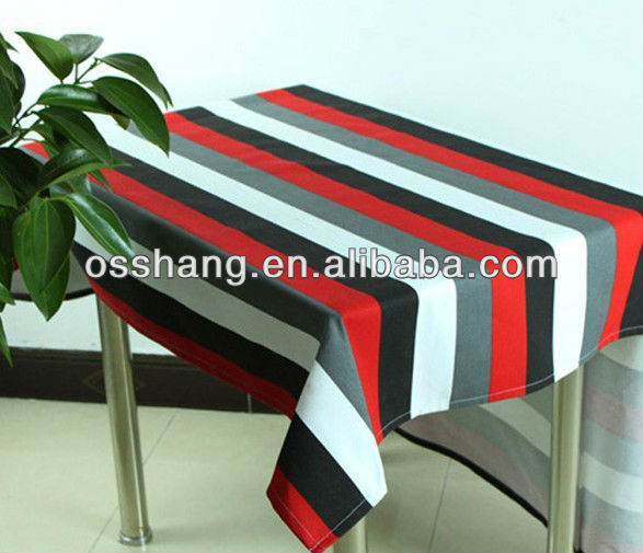 polyspun table cloth round/rectangle table cover