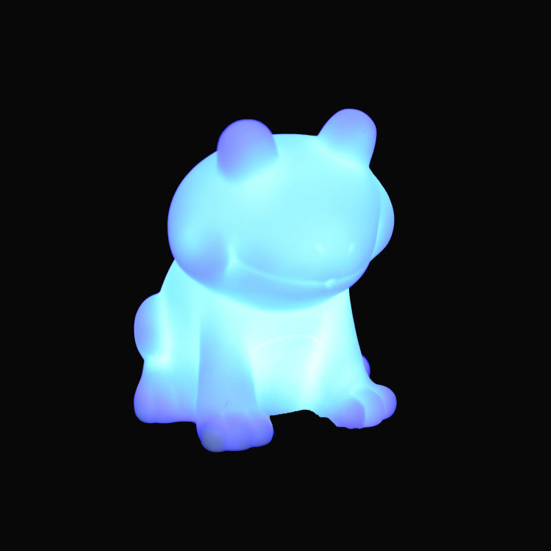 battery operated mini led frog night lights, led blue frog night light, home & party decoration usage led night light