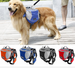 Wholesale Waterproof Outdoor Dog Backpack Saddle Bag for Traveling , Camping