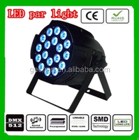 High power led par light 18*3w 3 in 1 RGBW stage light