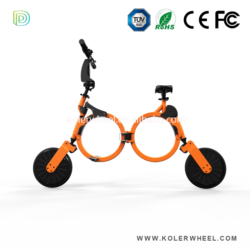 10 Inch Mini Convenient foldable electronic bicycle with China Patent