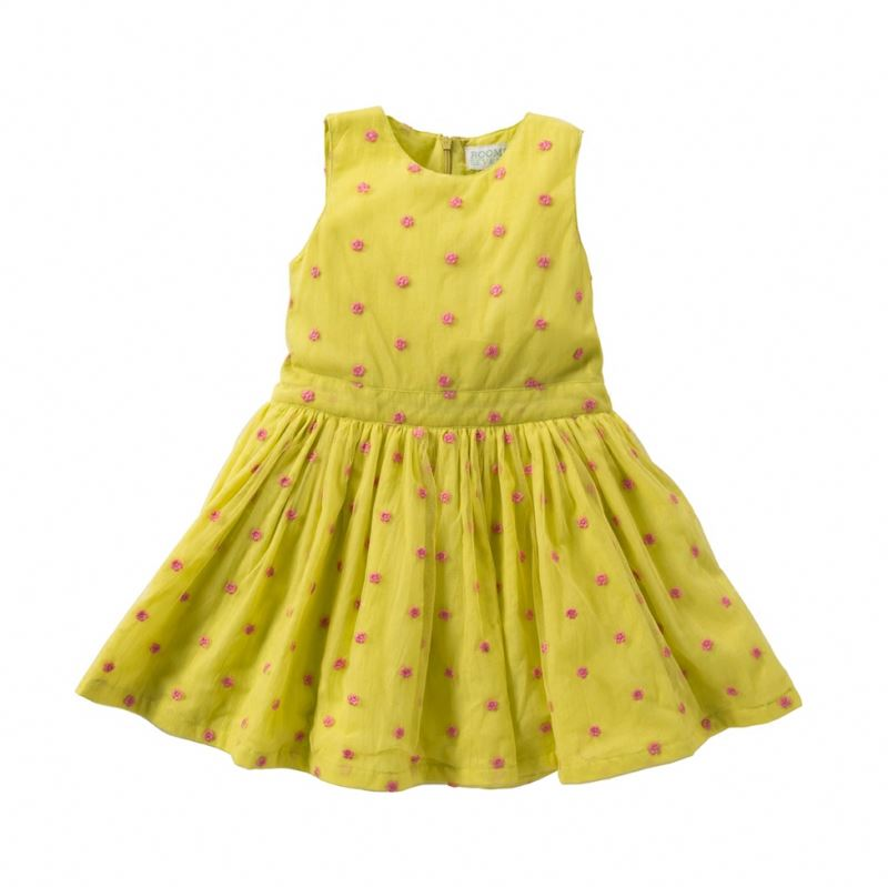 New Model Girl Dress Summer Tulle Party Dress Sleeveless Kids Fashion Dresses