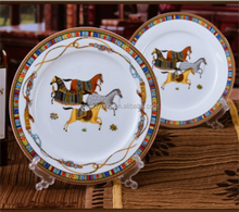 bone china plate souvenir plates /dishes China supplier factory direct