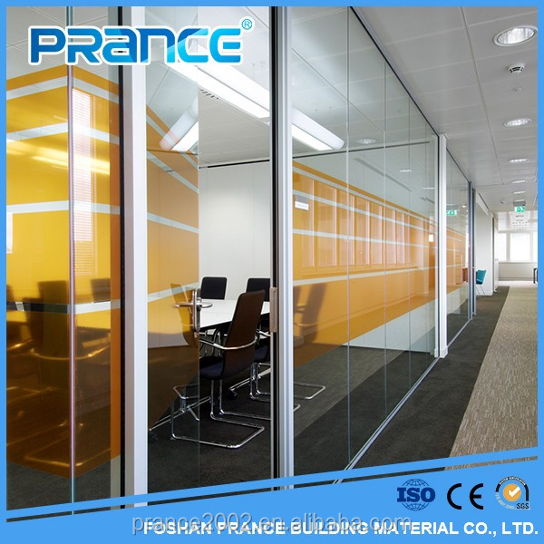 Seeking of well-made waterproof bathroom glass partition wall