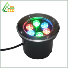RGB controller 6w power led underground lights housing Aluminum Lamp Body