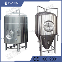 Sanitary Stainless Steel Conical Fermenter Microbrewery