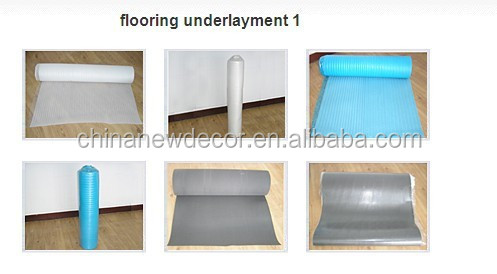 flooring underlayment 2mm 3mm