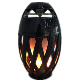 WILIT 2018 hot sale Led flame bluetooth speaker Lamp for Outdoor Garden Atmosphere