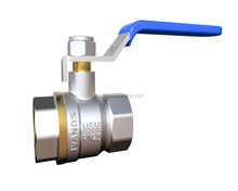 "S1208 high quality cheapest price full flow Long level handle 4"" inch brass Ball Valve"