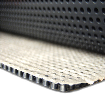 hdpe dimple membrane drainage board with geotextile