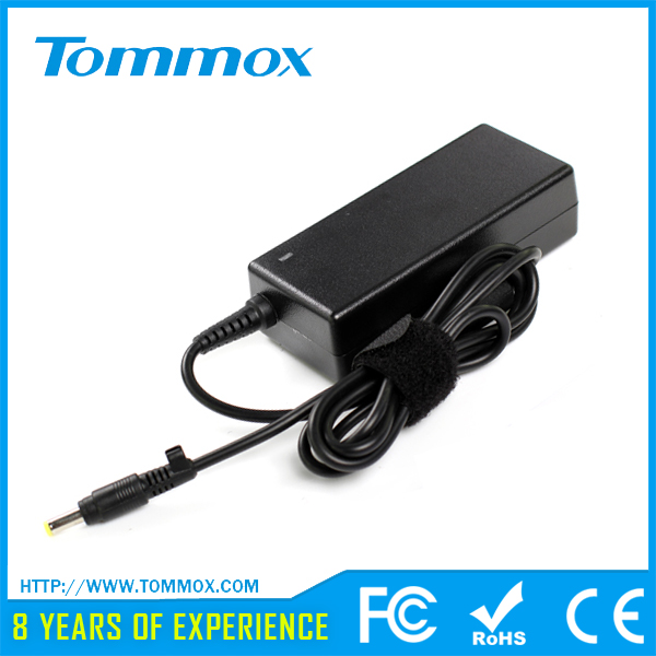 laptop adapter for HP 18.5V 3.5A yellow/small pin 65W replacement chargers