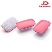 JINDING Pink Plastic hair comb massage hair better sleep --JD07