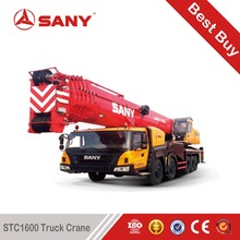 SANY STC1600 160 Tons More Stable Luffing Operation of Mounted Crane of 150 Ton Mobile Crane