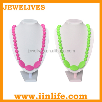 Fashion accessory food grade silicone teething beads bulk