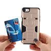 VRS design Shockproof Protective Slim Case with Credit Card Holder Wallet Cover for Apple iphone 7