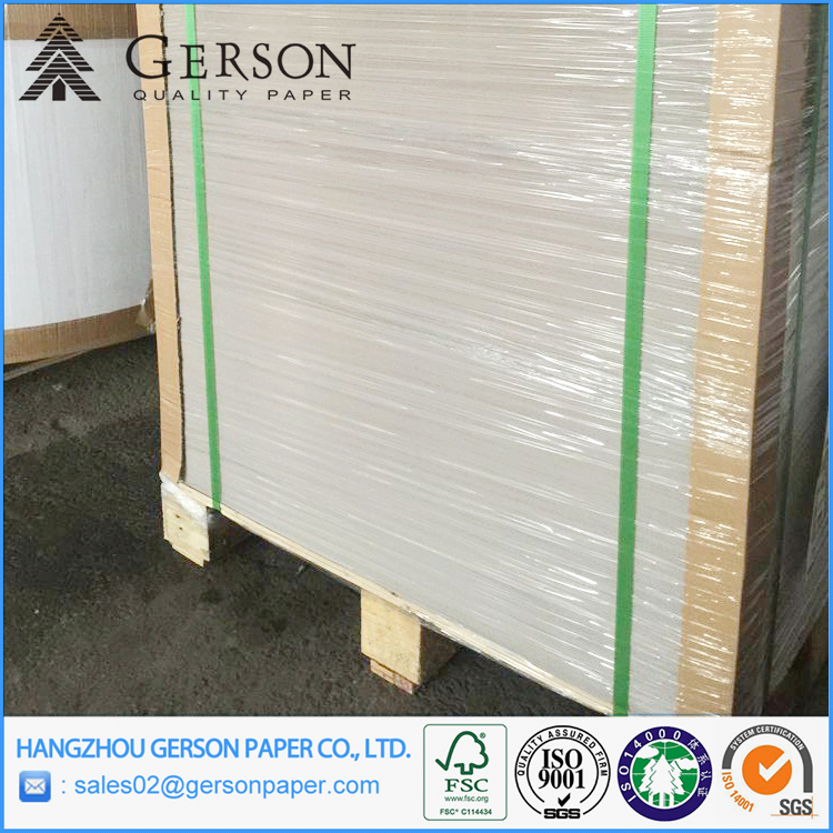 Suit for Making Soap Box and Sweet Box One Side Clay Coated Paperboard Stocklot Paper Factory On Rolls