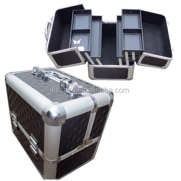2015 new design professional aluminum cosmetic case,aluminum cosmetic box,make up case.high quality prompt delivery.