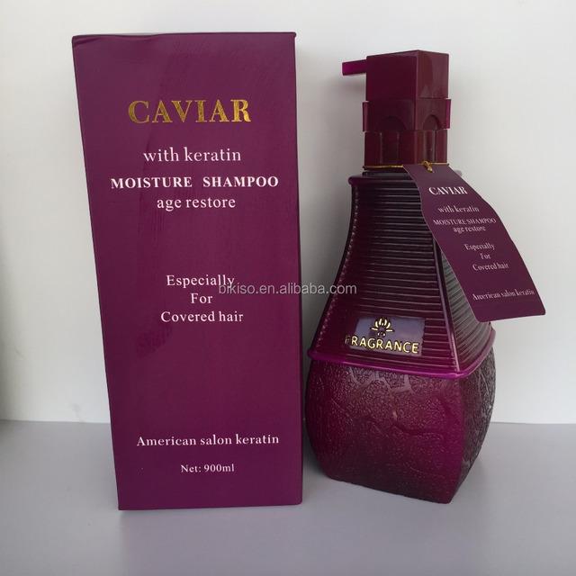 Best Qunality Caviar Cosmetics With Keratin Hair Shampoo