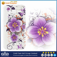 [NP-2296] Flower Design Water Printing cell phone Free OEM TPU case for Samsung G530