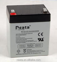Valve Regulated Lead Acid Battery 12V 4AH approved by ISO CE UL ROHS REACH