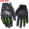 Men's genuine leather carbon fiber motorbike gloves racing gloves cross country gloves motorcycle