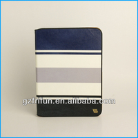 "blue and black color stripe for samsung galaxy tab 3 10"" cover"