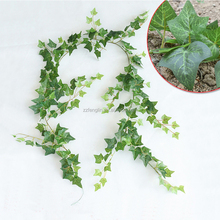 73ft wholesale fake evergreen leaves vine artificial foliage leaves garland