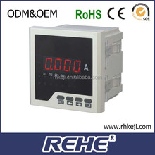 2014 newest high precision single phase dc digital ammeter