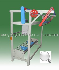 New condition fibre Fabric Unwinding and Plaiting Machine